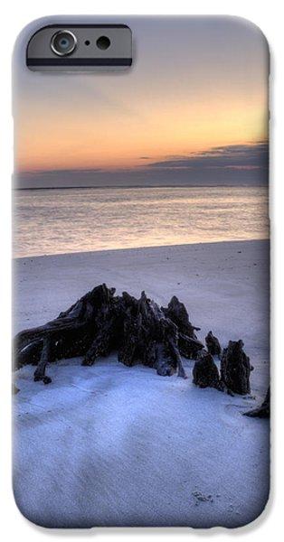 Folly iPhone Cases - Folly Beach Sunrise iPhone Case by Dustin K Ryan