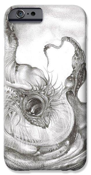 FOMORII INCUBATOR iPhone Case by Otto Rapp