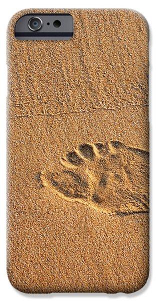 foot print iPhone Case by Carlos Caetano