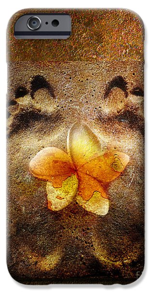 Conceptual Mixed Media iPhone Cases - For the love of Me iPhone Case by Photodream Art