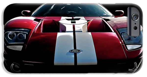 Ford Gt iPhone Case by Douglas Pittman