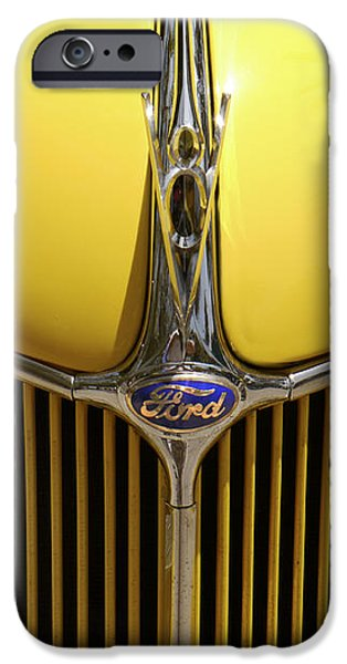 Ford V8 iPhone Case by Mike McGlothlen