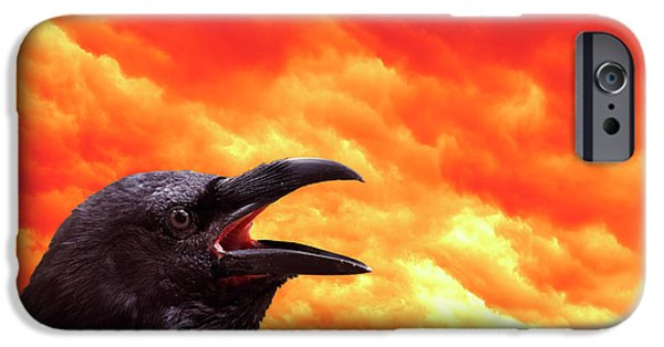 Gloaming iPhone Cases - Foreboding iPhone Case by Michal Boubin