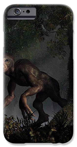 Forest Creeper iPhone Case by Daniel Eskridge