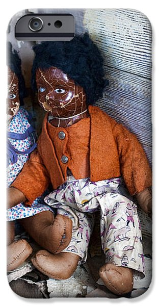 Forgotten Dolls Study III iPhone Case by Norma Warden