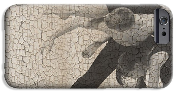 Couple Digital Art iPhone Cases - Forgotten Romance  iPhone Case by Naxart Studio