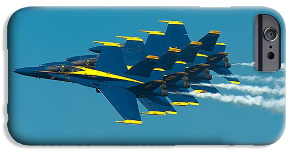 Aviation iPhone Cases - Formation iPhone Case by Sebastian Musial