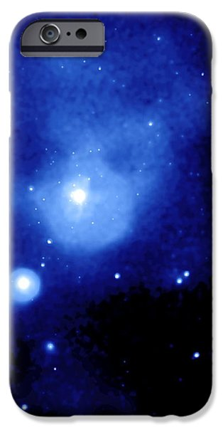 Fornax Galaxy Cluster iPhone Case by NASA / Science Source