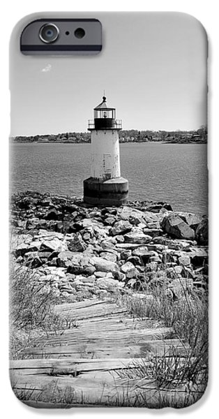 Fort Pickering Light iPhone Case by Catherine Reusch  Daley