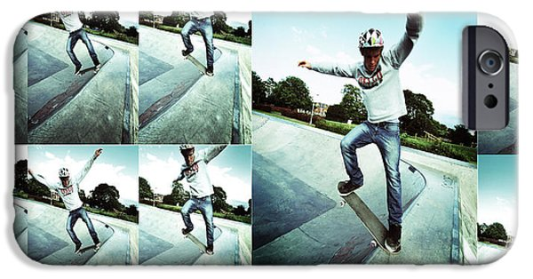 Action Shot iPhone Cases - Frame By Frame iPhone Case by Yhun Suarez