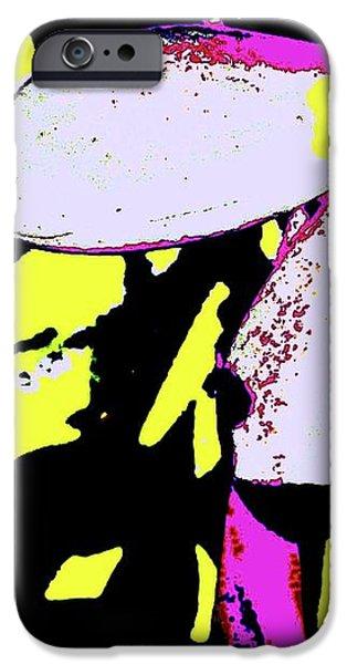 FRANGIPANI 0856 24 iPhone Case by Nina Kaye