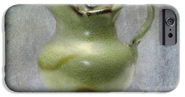Pottery Pitcher iPhone Cases - Frankhoma Pitcher iPhone Case by Betty LaRue