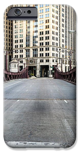 Franklin Orleans Street Bridge Chicago Loop iPhone Case by Paul Velgos