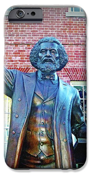 Frederick Douglass iPhone Case by Brian Wallace