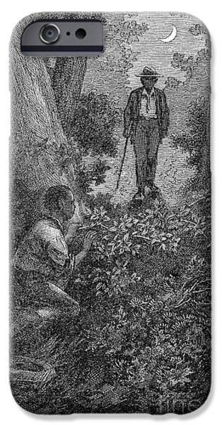 Frederick Douglass iPhone Cases - FREDERICK DOUGLASS (c1817-1895) iPhone Case by Granger