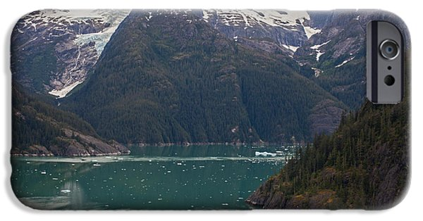 Norway iPhone Cases - Frederick Sound iPhone Case by Mike Reid
