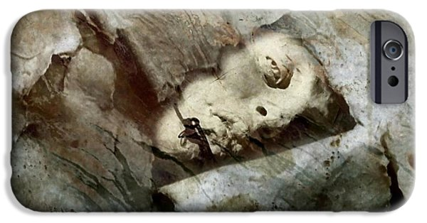 Burned Clay iPhone Cases - Free me iPhone Case by Gun Legler