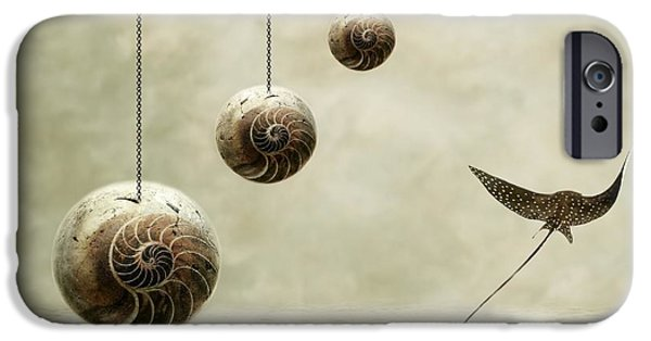 Surrealism Digital Art iPhone Cases - Free iPhone Case by Photodream Art