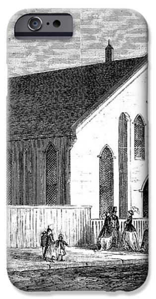 FREEDMEN SCHOOL, 1867 iPhone Case by Granger