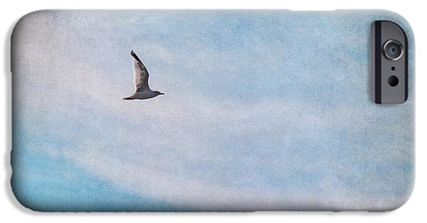 Birds iPhone Cases - Freedom iPhone Case by Angela Doelling AD DESIGN Photo and PhotoArt