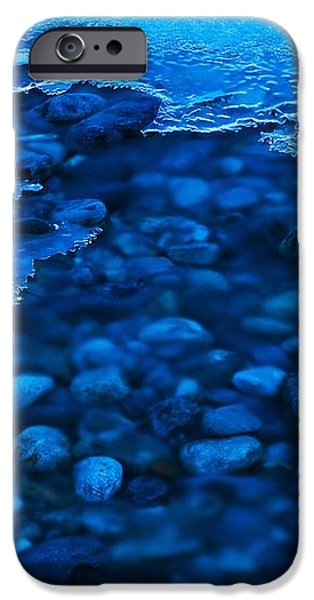 Freezing River iPhone Case by Jeremy Walker