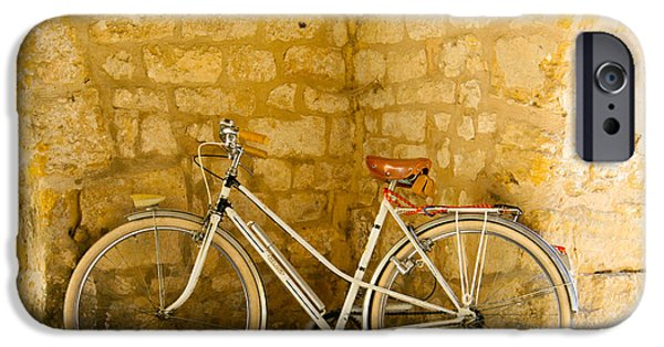 Velo iPhone Cases - French Bicycle iPhone Case by Nomad Art And  Design