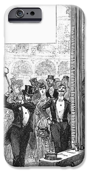 FRENCH FAIR, 1889 iPhone Case by Granger