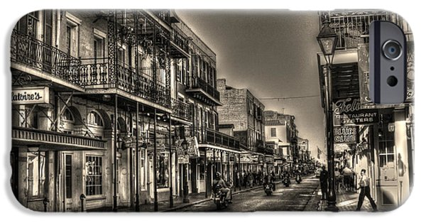Louisiana Photographs iPhone Cases - French Quarter Ride iPhone Case by Greg and Chrystal Mimbs