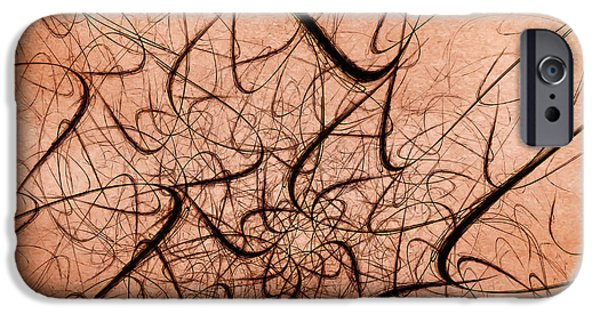Fractal iPhone Cases - Frenzy iPhone Case by Scott Norris