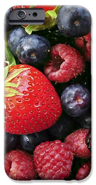 Fresh berries iPhone Case by Elena Elisseeva