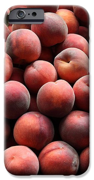 Fresh Peaches - 5D17816 iPhone Case by Wingsdomain Art and Photography