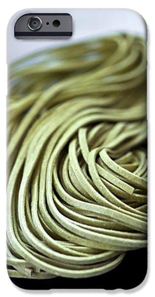 Fresh tagliolini pasta iPhone Case by Elena Elisseeva