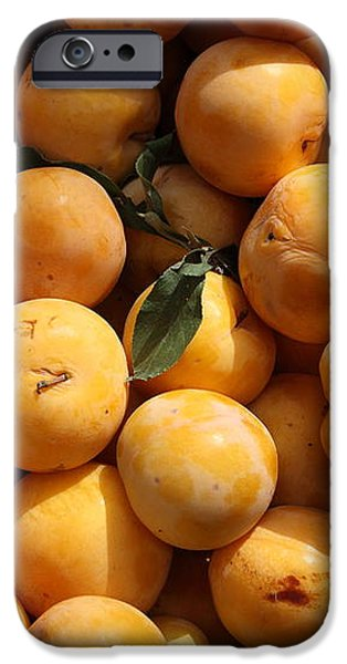 Fresh Yellow Plums - 5D17814 iPhone Case by Wingsdomain Art and Photography