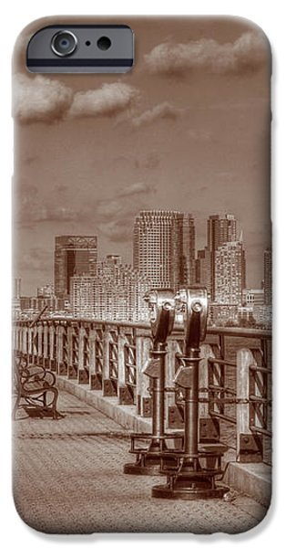 Friends Sepia iPhone Case by Lee Dos Santos