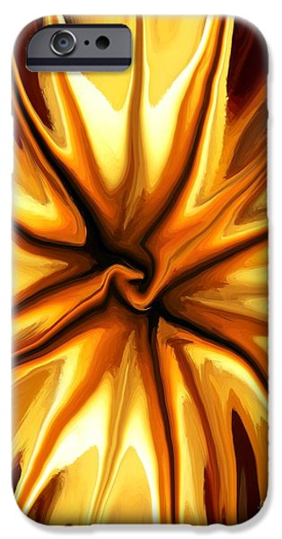 Concept Mixed Media iPhone Cases - Friendship iPhone Case by Chris Butler
