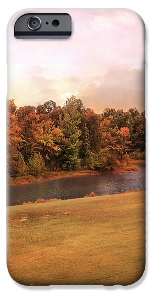 Friendship Pond iPhone Case by Jai Johnson