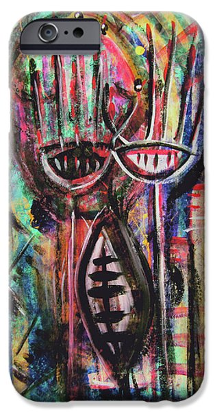 FROM DEEP WITHIN iPhone Case by Mimulux patricia no