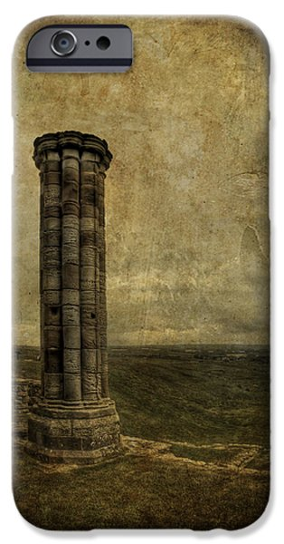 Ruins iPhone Cases - From The Ruins Of A Fallen Empire iPhone Case by Evelina Kremsdorf