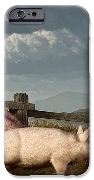 Frontier Widow iPhone Case by Daniel Eskridge
