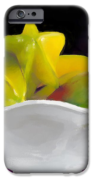 Fruit Bowl iPhone Case by Michelle Wiarda