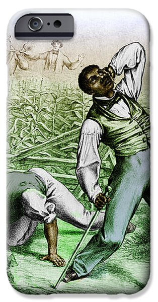 Fugitive Slave Law iPhone Case by Photo Researchers