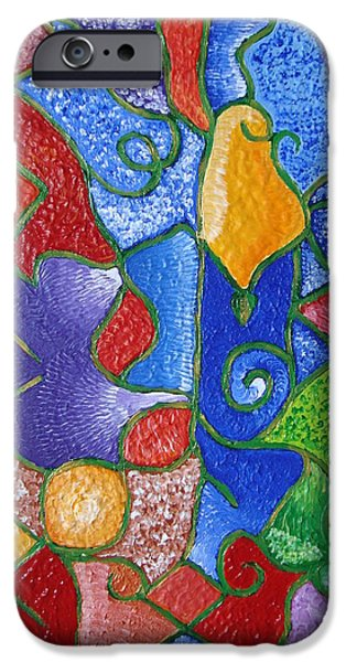 Sign Pastels iPhone Cases - Fulfillment  iPhone Case by Joanna Pilatowicz