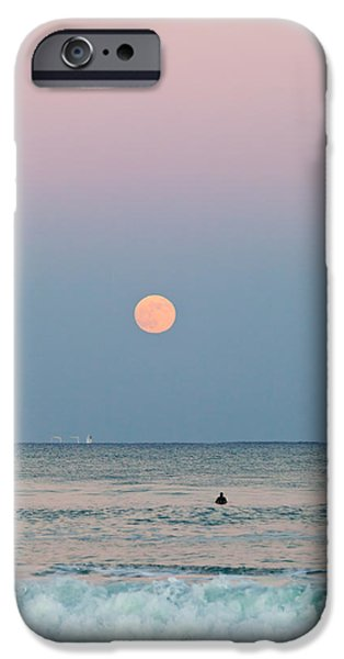 Michelle iPhone Cases - Full Moon in Taurus October 29 2012 iPhone Case by Michelle Wiarda