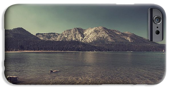 Lake Tahoe iPhone Cases - Fun at the Lake iPhone Case by Laurie Search