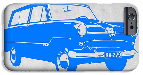 Racing iPhone Cases - Funny Car iPhone Case by Naxart Studio