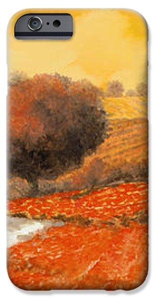 fuoco di Toscana iPhone Case by Guido Borelli