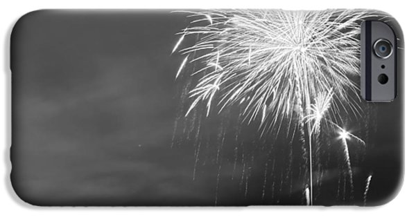 Fireworks Photographs iPhone Cases - Fur Rondy Fireworks iPhone Case by Ed Boudreau
