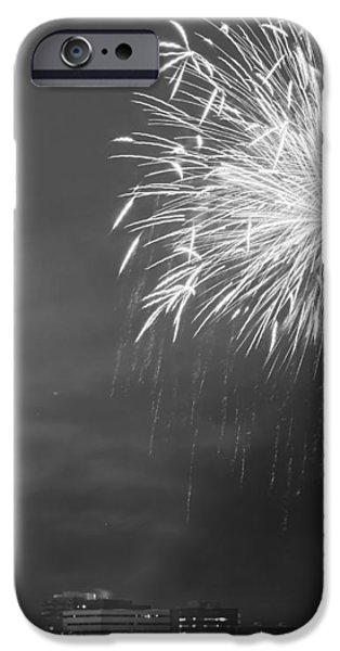 Fur Rondy Fireworks iPhone Case by Ed Boudreau