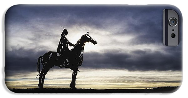 Year Of The Horse iPhone Cases - Gaelic Chieftain By Maurice Harron iPhone Case by The Irish Image Collection