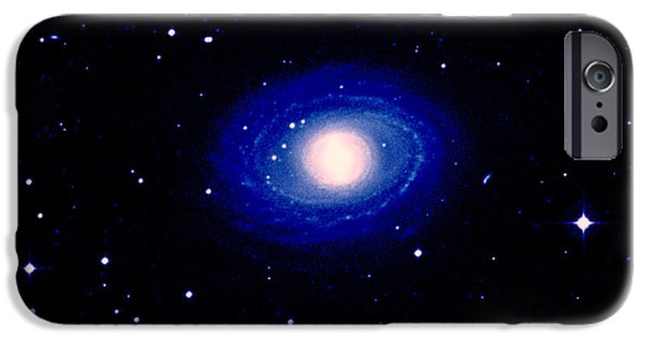 Astrophysics iPhone Cases - Galaxy Ngc 1398 iPhone Case by Celestial Image Co.
